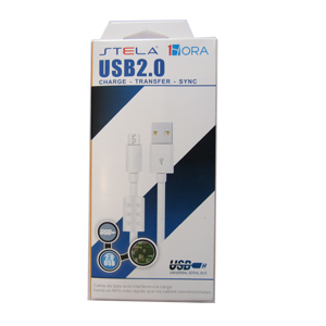 cable STELA microUsb CAB031-B